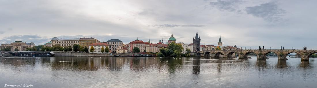 Le jour se lève sur PRAGUE (Avril 2019) - Photo Emmanuel Marin